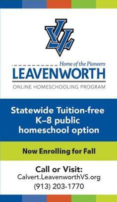 #ClippedOnIssuu from iFamilyKC July 2016 Leavenworth offers a flexible educational program for your children through an online format which allows your child to learn at their pace!! // For more family resources visit www.ifamilykc.com ! :)