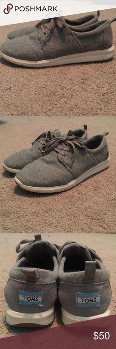 Toms Del Rey Sneakers Worn like 4 times. Clean, very comfortable TOMS Shoes Sneakers