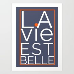 #poster #art #wallart #quotes #orange #blue #colours #trend #2018 #positive #happy #joy #French #homedecor #home #society6 #myart Indigo Prints, Walls, Positivity, Posters, Joy, Colours, French, Wall Art, Orange