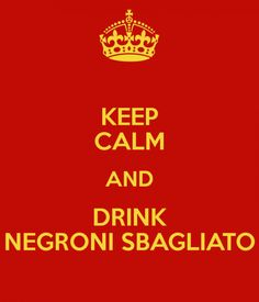 Negroni Sbagliato Redux - A Negroni Sbagliato without that overwhelming Campari taste. Try this variation in a standard Negroni as well.  http://consumatorium.com/2015/07/negroni-sbagliato-redux?utm_content=buffer1af2b&utm_medium=social&utm_source=pinterest.com&utm_campaign=buffer #consumatorium