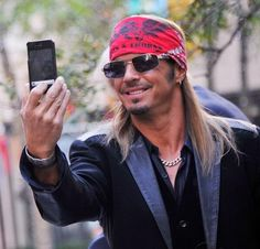 Bret Michaels at St. Joseph's Hospital in Phoenix, where he delivered Christmas presents to the kids. Awesome guy!
