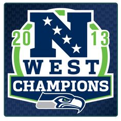 NFC West Champs! 2013