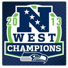 NFC West Champs! 2013