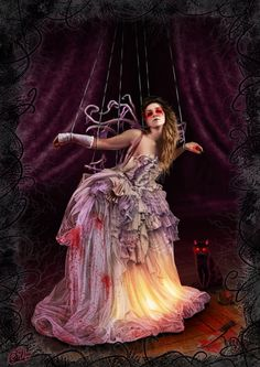 inspiration...La Marionnette... by ~DarkAkelarre on deviantART
