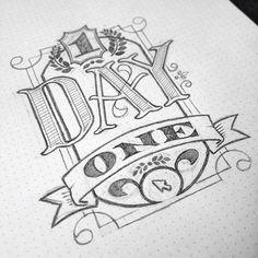Hand lettering by Jon Benson