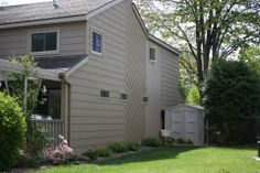 Lp Smartside 8 Quot Lap Siding Pre Finished With Diamond Kote French Gray Exteriors Pinterest