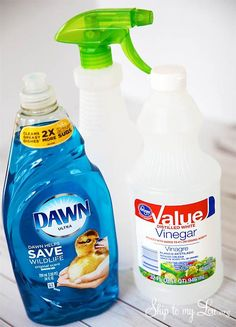 This homemade bath and shower cleaner is amazing. I couldn't be more thrilled to have found an inexpensive powerful homemade bathroom cleaner.
