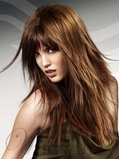 Looking for the best long layered haircuts for a fresher look? In our gallery you will find the best images of Best Long Layered Haircuts that you may want Long Choppy Haircuts, Long Layered Haircuts, Haircuts For Long Hair, Hairstyles With Bangs, Straight Hairstyles, Layered Hairstyles, Hairstyles Pictures, 2014 Hairstyles, Haircut Long
