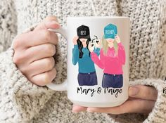 Best Friend Mug, Friend Mugs, Birthday Gifts For Best Friend, Best Friend Gifts, Gifts For Friends, Graduation Gifts For Sister, Personalized Graduation Gifts, Sister Gifts, Grandma Mug