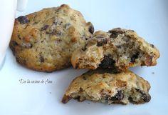 Cookies de Plátano, Nueces y Chocolate Deli, Cookie Recipes, Muffin, Cookies, Chocolate, Breakfast, Food, Donut Holes, Food Cakes