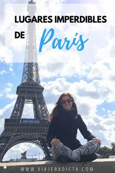 ¿Quieres saber cuáles son los lugares turísticos de París que no te puedes perder? Revisa esta publicación y descubre cuáles son, sus horarios y sus precios. #turismo #paris #francia #viaje Travel Around The World, Around The Worlds, France Photography, London Places, Travel Humor, European Tour, Most Visited, Tour Eiffel, France Travel