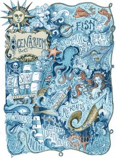 Ocenarium Art Print