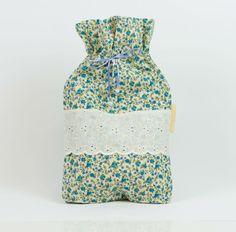 Laundry bag draw string bag Drawstring pouch by MoonlightCompany