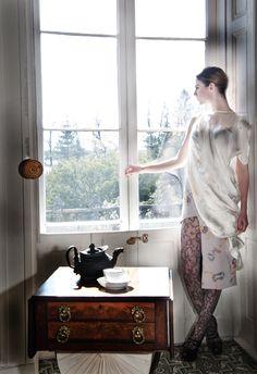 Shilpa Iyengar Spring 2013, Photographer: Silvia Nicoletti, Model: Aurelia del Sol