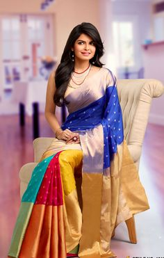 Rich Feel Soft Silk Saree 1010                              …