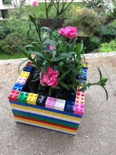 Résultat - Tuto LEGO® le cache-pot