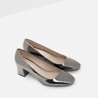 Image 6 of SHINY COURT SHOES from Zara