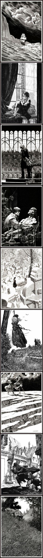 Bernie Wrightson illustrating Mary Wollstonecraft's Frankenstein ~ late 1970's