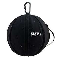 "Wraith Game Bag Basketball Bag - The Revive Game Bag fits up to a regulation sized basketball (29.5""). This basketball bag makes it easy to carry a ball on and off the court by easily clipping onto a backpack, duffle bag or wearing it across your body with the shoulder strap that is included. The Game Bag is made of a heavy duty..."