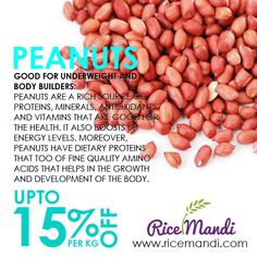 Health Benefits of pea nuts