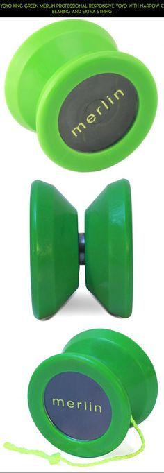 Yoyo King Green Merlin Professional Responsive Yoyo with Narrow C Bearing and Extra String #yo-yo #shopping #products #fpv #plans #parts #drone #gadgets #camera #kit #technology #tech #professional #racing