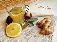tisana allo zenzero e limone -