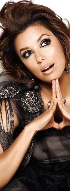 Eva Longoria  #Makeup #Brown #Eyes #Maquillage #Marron #Yeux #Soirée #Journée #Night #Day