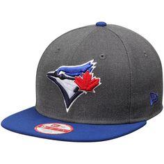 653d85db063 New Era Toronto Blue Jays Graphite Royal Original Fit 9FIFTY Snapback  Adjustable Hat