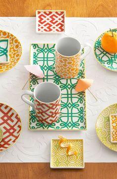 Rodada placas de aperitivo de porcelana (conjunto de 4)   Nordstrom