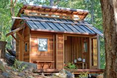 tiny house tiny house tiny cabin in the woods