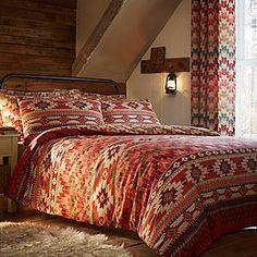 Navajo Spice Duvet Cover & Standard Pillowcase Set #kaleidoscope #home
