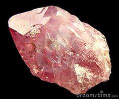 raw rose quartz - Google Search