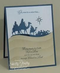 Giving thanks for God's gift of love and the joy we share with Christ the Lord stampin up come to bethlehem - Google Search