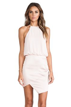 Nookie Royals Halter Dress in Nude from REVOLVEclothing