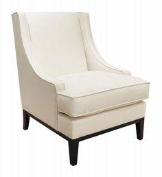 Lancaster Chair | Bernhardt  W: 28 D: 33 H: 38 SH: 18 AH: 20-1/2 SD: 21 BA: 22