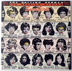 The Rolling Stones - Some Girls LP Vinyl Record Album, Rolling Stones Records - COC 39108 , Classic Rock, 1978