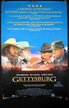 Gettysburg. I have yet to see the movie, but the book (The Killer Angels) is excellent!