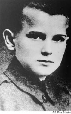 **FILE** Pope John Paul II, the former Karol Wojtyla, is seen when he was 12, in Wadowice, Poland. Pope John Paul II, the Polish pontiff who led the Roman Catholic Church for more than a quarter century and became history's most-traveled pope, died Saturday night, April 2, 2005 in his Vatican apartment. He was 84. (AP Photo, File) / SF