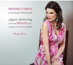 This BEAUTIFUL reversible Prophecy Dress (Vivienne Westwood, Anglomania) makes for a PERFECT wedding outfit. Available in black or Fuchsia pink!  http://www.saintbustier.com/catalogsearch/result/?q=prophecy