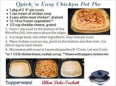 Quick N' Easy...Chicken Pot Pie
