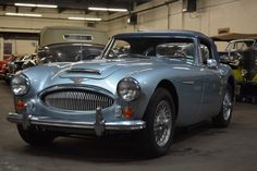 1967 Austin Healey 3000 MKIII. Blue with blue interior. One owner from new. It's a very clean, solid and straight driver that comes complete. For only $39,500 #gullwingmotorcars #classiccars #buy&sellclassiccars #VintageCarBuyer #ClassicCar #antiqueCarBuyer #AustinHealey #1967AustinHealey3000MKIII