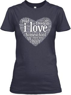 Love Homeschool Shirt-Limited Edition f4c49ee7e630