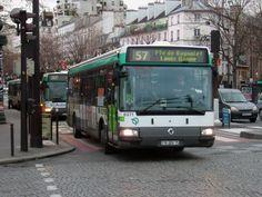 ligne 57 gare d'Austerlitz Ligne Bus, Buses, Europe, Train Station, France, Busses