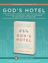 Discussion questions for God's Hotel: A Doctor, a Hospital, and a Pligrimage to the Heart of Medicine by Victoria Sweet https://www.teachervision.com/medical-care/discussion-guide/75016.html #nonfiction