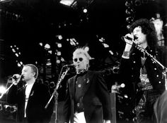John Deacon, Roger Taylor and Brian May, Freddie Mercury Tribute