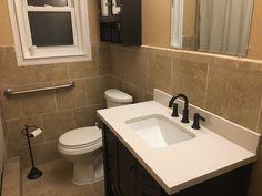 Dark Wood Bathroom, Sink, Home Decor, Sink Tops, Vessel Sink, Decoration Home, Room Decor, Vanity Basin, Sinks