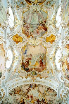Cathedral of Rottenbuch, Rottenbuch, Bavaria, Germany