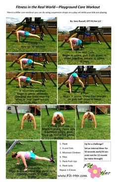 Playground Core workout #MostFit #TRX #Core