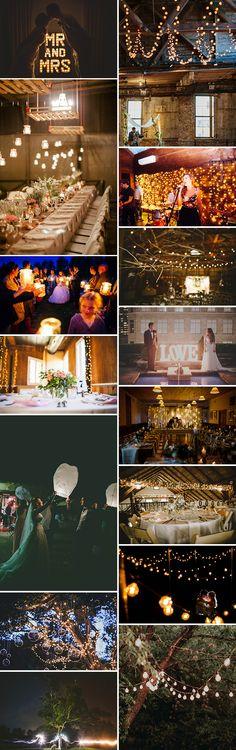 Wedding lights..