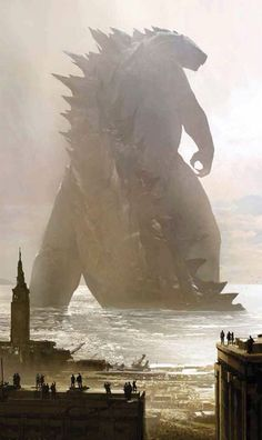 Godzilla Movie shot